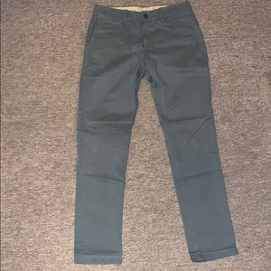 GAP SLIM Chino Pants 29x30 in Grey